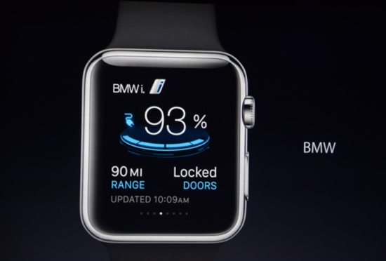 Apple Watch BMWi